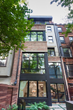 Rear Exterior View of Manhattan's First Certified Passive House Building