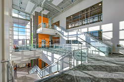 Hollaender® Interna-Rail® VUE Railing System Provides Variety of Aesthetic and Functional Solutions at Downtown Indianapolis YMCA