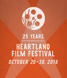 25th Annual Heartland Film Festival - Oct. 20-30, 2016 in Indianapolis