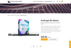 FCPX Plugin - ProGraph 3D Basics - Pixel Film Studios