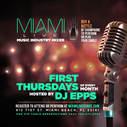 Miami Live Venue - First Thursdays