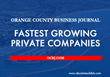 Absolute Exhibits Makes the Orange County Business Journal's List of Fastest Growing Private Companies