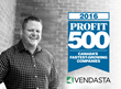 Vendasta Technologies, Inc. Ranks No. 42 on the 2016 PROFIT 500