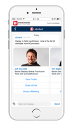 Schedule meetings using chatbots