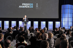 The gala Prism Awards banquet serves as an industry showcase for the best new products from across nine industry categories.