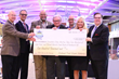 2016 PTI 5K 10K on the Runway Co-chairs Present $100,000 Check to Triad Food Relief Charities