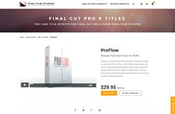 FCPX Plugin - ProFlow - Pixel Film Studios