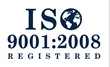 ISO 9001 2008 Registered with Design