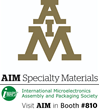 AIM to Participate at the IMAPS International Symposium on October 11-13th, 2016