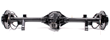 Moser Muscle Pak GM 12-Bolt Rear Axle Assembly