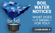 Research Shows September Is A Leading Month for Boil Water Notices