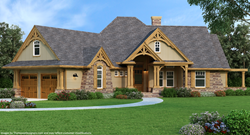best-selling house plan, craftsman house plan, affordable house plan