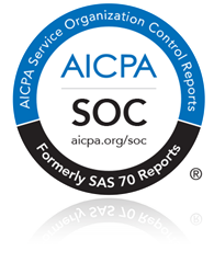 AICPA and SOC 2 logo