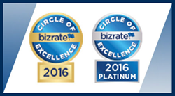 Bizrate Insights Circle of Excellence Award