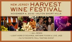 New Jersey wine tasting, Harvest wine festival, Hilton Short Hills events, New York Wine Events, New York metro area wine tastings