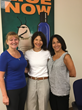 Deb Brooks(l) and Leslie Ruggiero (r) celebrate their new franchise with LTC® CEO Liz Solovay