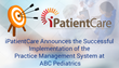 iPatientCare Announces the Successful Implementation of the Practice Management System at ABC Pediatrics