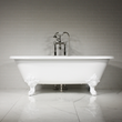 "'The Minster' 73"" Cast Iron Double Ended Tub Package"
