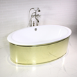 """'The Ashton' 65"""" Oval Cast Iron Double Ended Tub Package"""