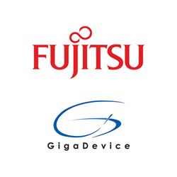 Fujitsu and GigaDevice Logos