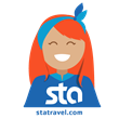 STA Travel Adventure Stickers New to Apple iOS 10
