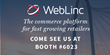 WebLinc Announces Record Revenue Growth at 65% YoY