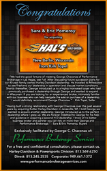 Performance Brokerage Announces Sale of Hal's Harley-Davidson in New Berlin, Wisconsin