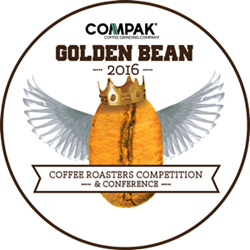 Crimson Cup wins Overall Runner Up prize at 2016 Compak Golden Bean North America roasting competition