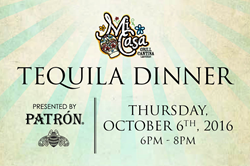 Patron Tequila Dinner