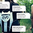 EVO and Company's New Odor-Eliminating Shoe Bag Aercase Now Available for Pre-Order on EvoAndCo.com
