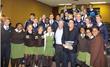 Tom Wheelwright and Robert Kiyosaki teach financial education at St Andrews College Prep School