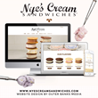 New Website Builds Brand for Ice Cream Sandwich Shop