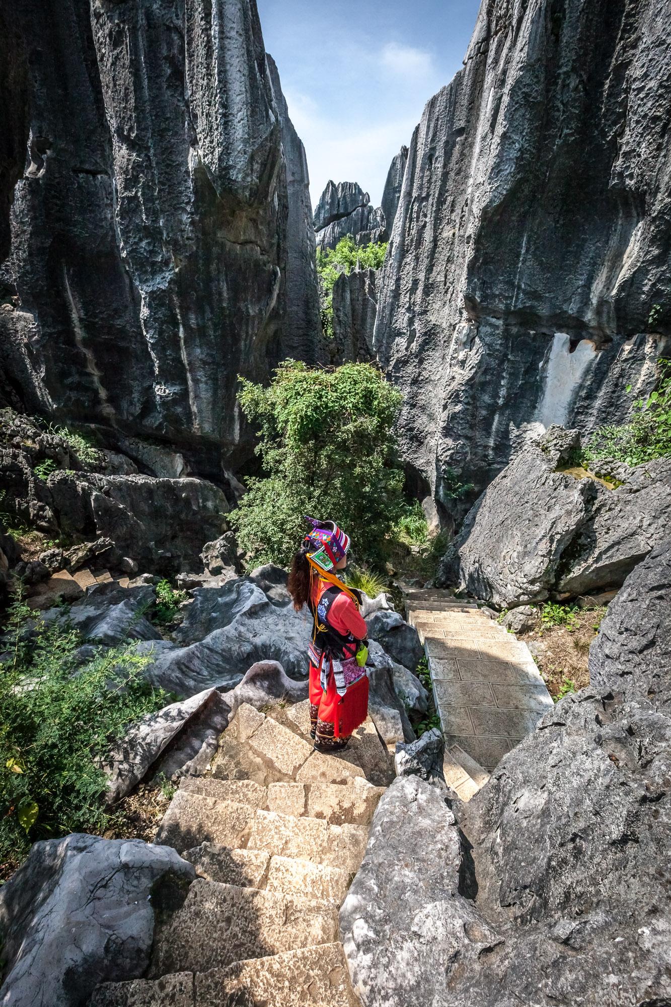 Bosque de Piedra, Shilin, China