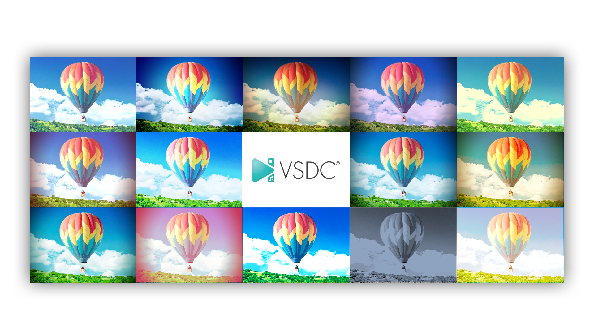 Visual Effects in Focus: VSDC Free Video Editor 5 5 Adds