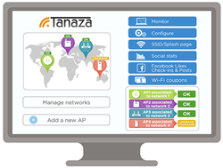 Tanaza - Multi-vendor cloud-based WiFi management for free and paid hotspots