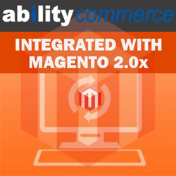 Ability commerce is fully integrated with MAGENTO ENTERPRISE EDITION 2.0.X