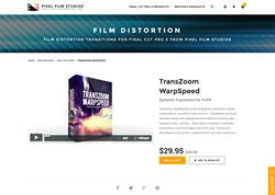 FCPX Plugin - TransZoom WarpSpeed - Pixel Film Studios
