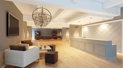 Select Office Suites FiDi reception area!