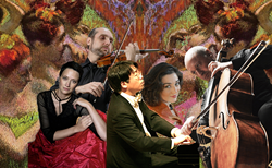 InterHarmony International Music Festival Artists to perform in Romantic Impressions at Carnegie Hall on November 5, 2016. Misha Quint, cello, Leonid Yanovskiy, violin, Anya Fidelia, soprano, Irina Nuzova, piano, Chih-Long Hu, piano