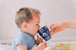 The opening is still much smaller than a normal cup, so it will help the baby get used to it bit by bit.