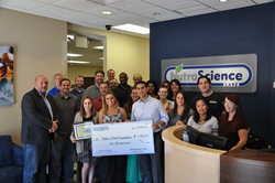 NutraScience Labs Make A Wish Donation
