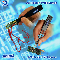 The connector allows to use Smart Tweezers and LCR-Reader as a Probe Station