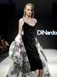 Johanna DiNardo_look 7_panné velvet bias cut dress with liquid organza floral cape