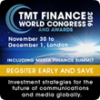 Telecom and finance leaders meet in London for TMT Finance World Congress 2016 on November 30