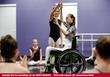 Liu Yan teaching dance workshop  Photo Credit: J.M. Lennon/Lennon Media