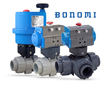 Bonomi North America Introduces Automated Thermoplastic Ball Valve Packages With Electric And Pneumatic Actuation