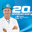 Best Sanitizers, Inc. Celebrates Twenty Years of Advancing the Food Safety Industry Through Innovative Products, Vision and Education.
