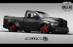 DSS RAM Hellfire SEMA Truck