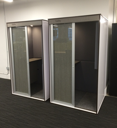 2 TalkBox booths newly delivered