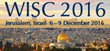 WAO International Scientific Conference (WISC 2016) Opens Today in Jerusalem